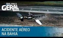 Morre a quarta vítima de acidente aéreo na Bahia
