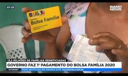 Governo faz 1º pagamento do Bolsa Família 2020