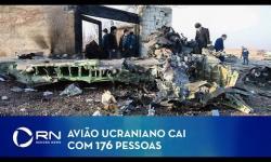 Avião ucraniano cai com 176 pessoas no Irã