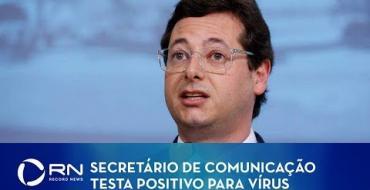 Wajngarten testa positivo para coronavírus