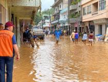 Chuvas no Espírito Santo devem continuar até sexta-feira, prevê Inmet