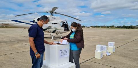 Lotes com 17.164 doses de vacinas contra a Covid-19 chegam a Campos