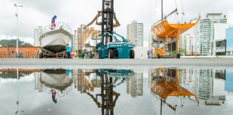 Pandemia reflete no aumento da demanda por reforma de barcos