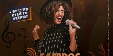 Festival de música amador com inscrições abertas em Campos, com o prêmio de R$ 10 mil