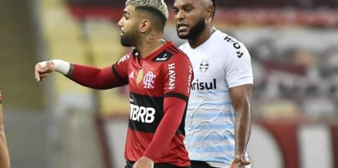 Viralizou: discussão entre Gabriel Barbosa e Diego Alves x Borja