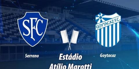 Goytacaz enfrenta o Serrano nesta quarta-feira