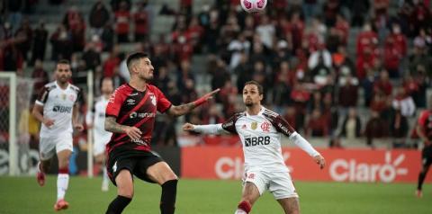 Copa do Brasil: Flamengo arranca empate com Athletico-PR