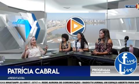 Programa Five Live estreia com sucesso na Rede Aurora de Comunicação