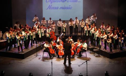 """Concerto """"Sinfonia de Orquestras"""" nesta sexta-feira (11) no Trianon"""