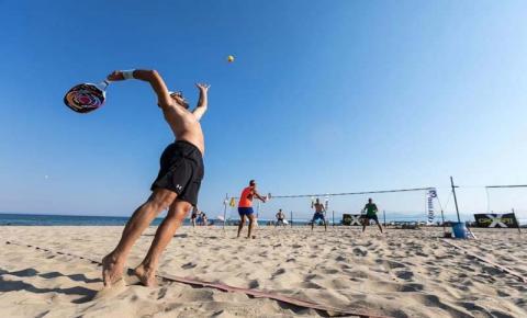 Beach Tennis: esporte que pode ser disputado sozinho ou em dupla