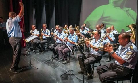 Banda da GCM se apresenta no Trianon nesta segunda (25)