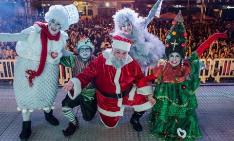 Campos se prepara para receber a magia do Natal a partir de quarta (11)
