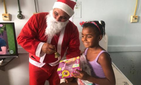 Dezembro é de doses de alegria na Pediatria do Hospital Ferreira Machado