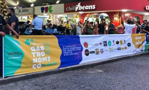 Campos: Circuito Gastronômico de Verão começa dia 13 de janeiro