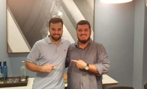Cenário político de Campos é tema principal em encontro do deputado estadual Rodrigo Bacellar com Caio Vianna