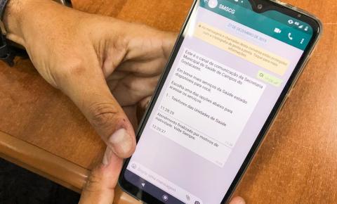 Marca Fácil: pacientes vão poder confirmar consultas via whastapp