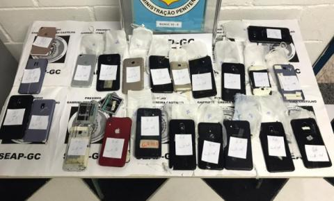 Seap apreende 24 celulares e relógio smart na Bangu 3