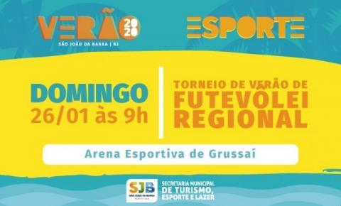 SJB: Inscrições abertas para Torneio de Futevôlei Regional