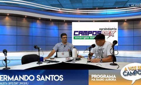 """""""A Voz de Campos"""" desta quinta recebe servidor público e aborta polêmicas da cidade"""