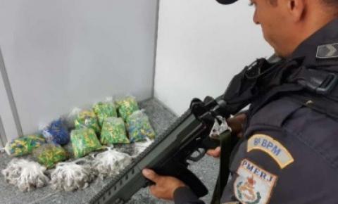 Polícia Militar realiza ação e apreende drogas em Guarus