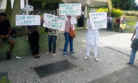 Servidores RPAs fazem nova manifestação em Campos