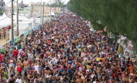 Farol de São Thomé recebeu cerca de 150 mil pessoas no Carnaval