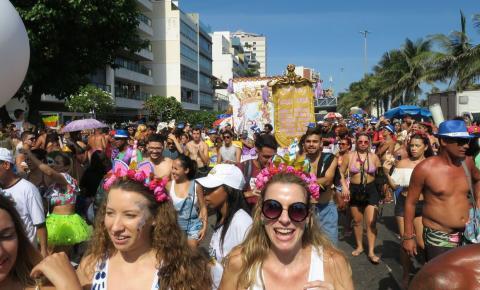 Carnaval segue no Rio de Janeiro neste fim de semana