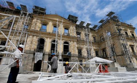 Museu Nacional reabrirá parcialmente em 2022