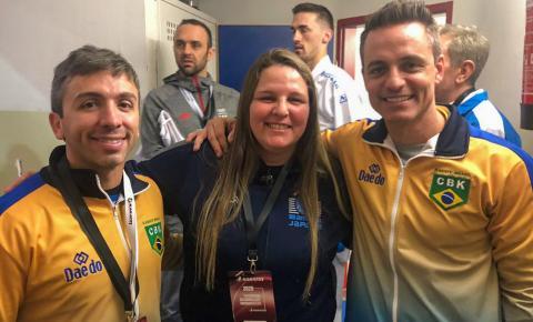 Professora da FME integra Seleção Brasileira de Karatê no Marrocos