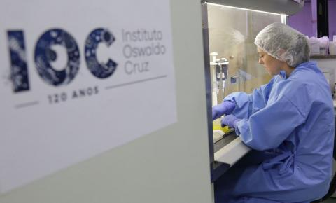 Fiocruz entrega 25 mil testes para coronavírus até sexta-feira