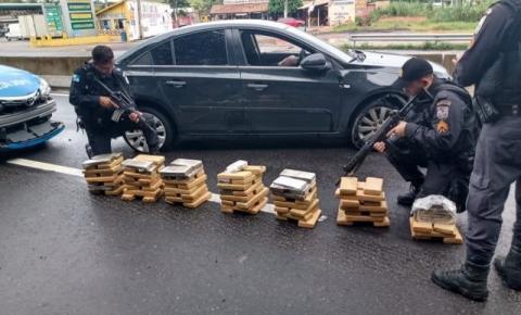 100 kg de maconha são apreendidos em Campos