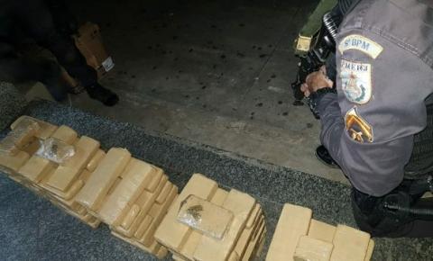 Polícia apreende 80 kg de maconha em Campos