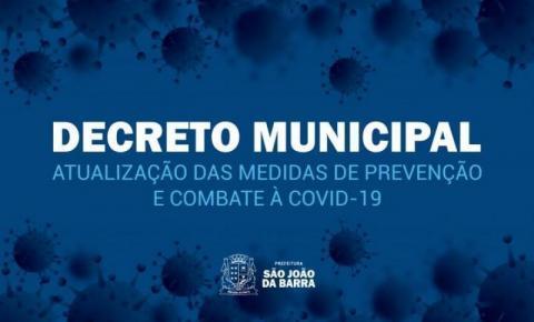 São João da Barra prorroga medidas de prevenção à Covid-19