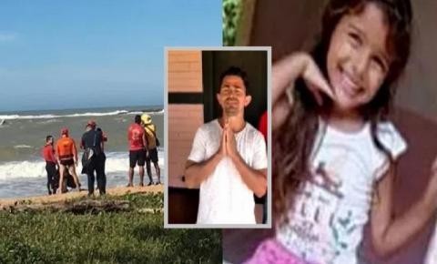 Corpo de Bombeiros encontra corpo da criança arrastada no mar em Rio das Ostras