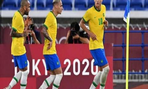 Brasil vence Alemanha na estreia do futebol masculino