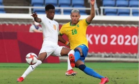 Futebol: com menos um, Brasil e Costa do Marfim ficam no empate
