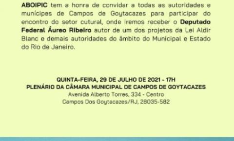 Movimentos promovem encontro para debater o setor de cultura em Campos