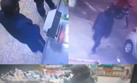 Bandidos tocam o terror e assaltam estabelecimentos comerciais de Campos
