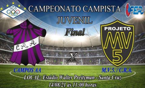 Liga Campista de Desportos (LCD) realiza finais do Campeonato Campista de Futebol de Base neste sábado em Santa Cruz