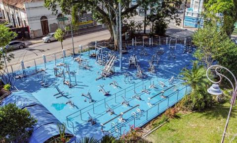 Jardim São Benedito será devolvido à população todo revitalizado