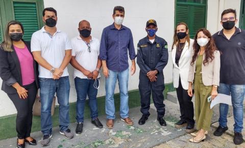 Secretários visitam Farol de São Thomé e prestigiam Festival de Petiscos