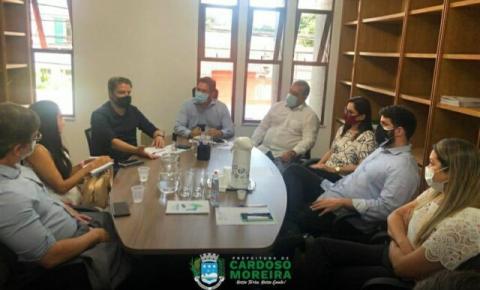 Prefeita de Cardoso Moreira participa de reunião técnica com Cidennf