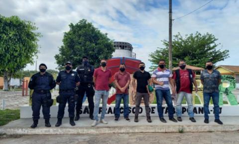 Ação em conjunto notifica três por ocupação irregular em área de preservação permanente em Barra