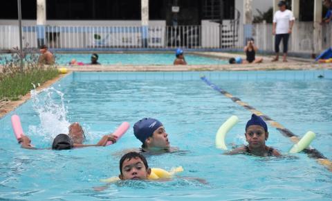 Fundação de Esportes com inscrições abertas para natação e hidroginástica
