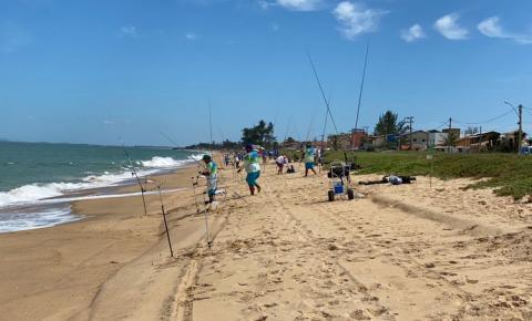 1º Torneio de Pesca ''Amigos dos Cabruncos'' na Praia do Farol de São Tomé