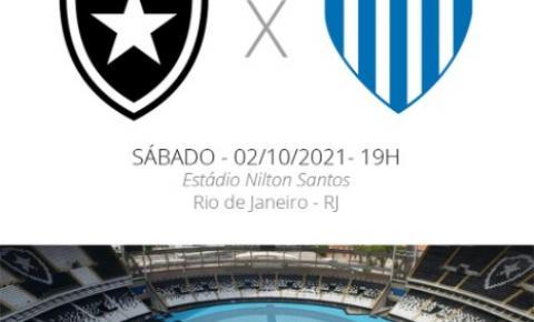 Botafogo enfrenta o Avaí neste sábado