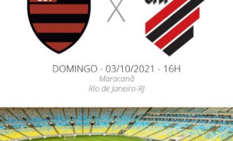 Flamengo enfrenta o Athletico-PR neste domingo pelo Campeonato Brasileiro