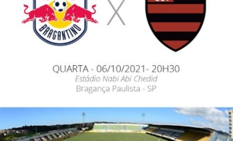 Flamengo enfrenta o Bragantino pelo Brasileirão nesta quarta-feira