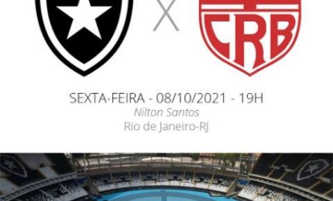 Botafogo enfrenta o CRB nesta sexta-feira