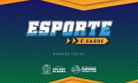 São João da Barra: Prefeitura promove eventos-teste de esporte